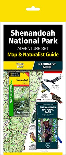 Shenandoah National Park Adventure Set: Trail Map & Wildlife Guide ()