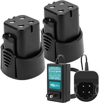 Mini Mite Cordless Rotary Tool 4.8V Removable Battery Pack 2 Speeds LED Light