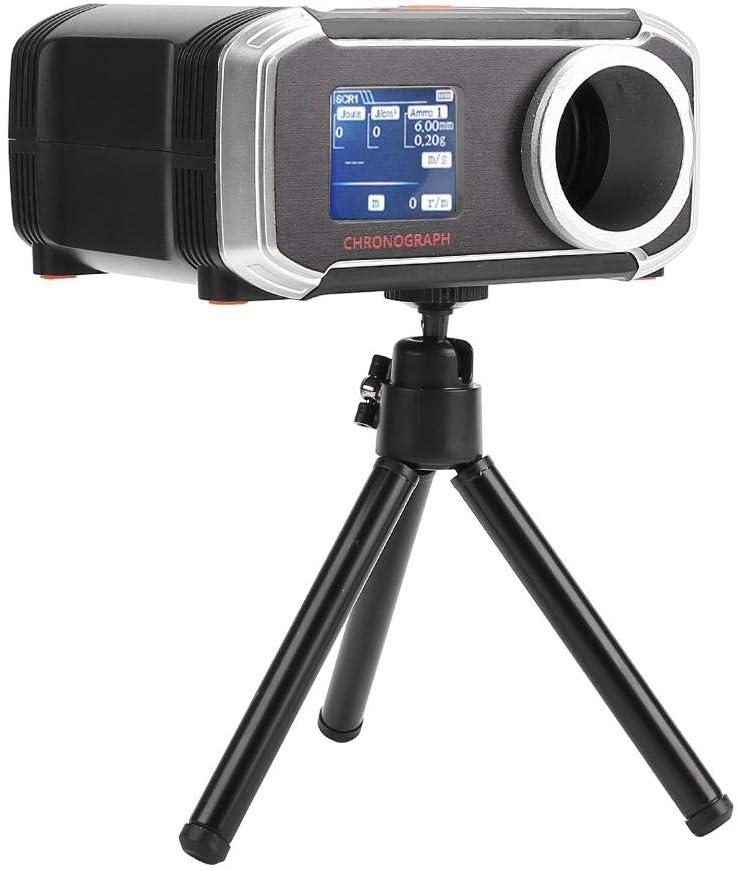 Probador de Velocidad, portátil inalámbrico BB Shooting Speed Tester 400mAh Recarga Airsoft Tester admite Muchos Idiomas Principales