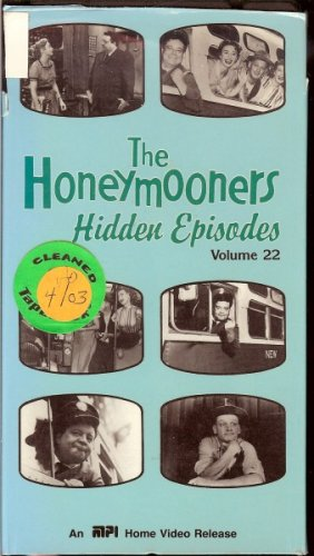 The Honeymooners Hidden Episodes Volume 22 (This is Your Life and Halloween Party)]()