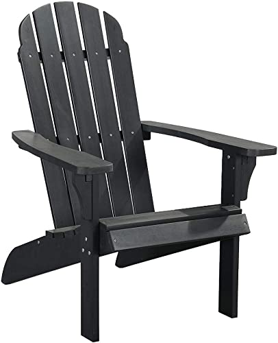 PolyTEAK Traditional Element Faux Wood Poly Adirondack Chair