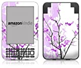 DecalGirl Kindle Skin (Fits Kindle Keyboard) Violet Tranquility (Matte Finish)