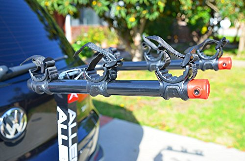 Allen Sports Deluxe Locking Quick Release 3-Bike Carrier for 2 in. & 1 4 in. Hitch by Allen Sports (Image #2)