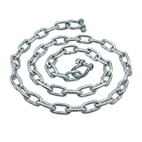 """Extreme Max 3006.6572 BoatTector Anchor Chain - 5/16"""" x 5' Galvanized Steel with 3/8"""" Shackles"""