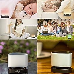 SweetLF Wireless Bluetooth 4.0 Alarm Speaker Touch Sensitive Multicolour Light App Controlled Kids Bedroom Lamps Realtek Chip Super Bass Fantasy Z1 Pro