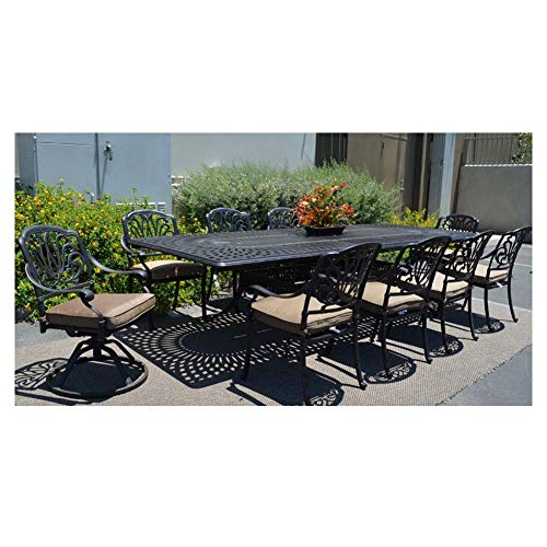 Rocking Rocker – S001BK Black Porch Rocker with Side Table – Set of 2 pcs Good Price