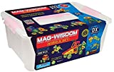 200PCS Deluxe set colorful magnetic building blocks packaged in gift bucket