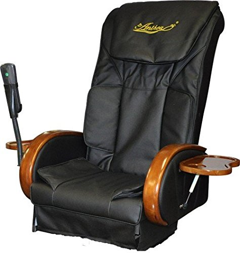 Amazon.com: Negro y Dorado Pedicura Spa Silla de masaje con ...