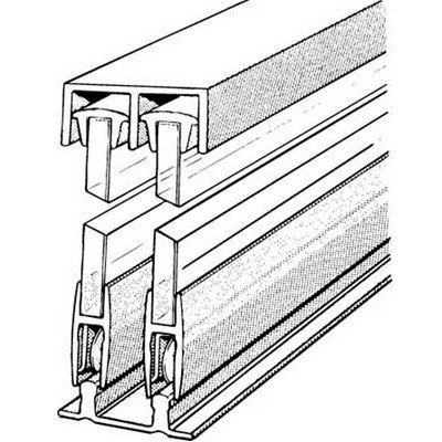 Cheap Epco E14A6 72 In. Sliding Glass Door Track And Components