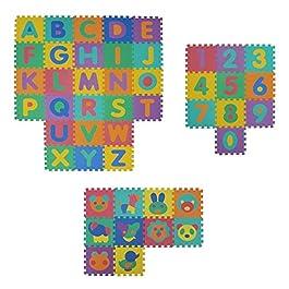 Alfombra infantil de puzzle