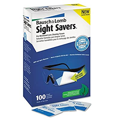 Bausch & Lomb 8574GM Sight Savers Premoistened Lens Cleaning Tissues
