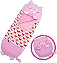 Happy Nappers Pillow & Sleepy Sack- Comfy, Cozy, Compact, Super Soft, Warm, All Season, Sleeping Bag with
