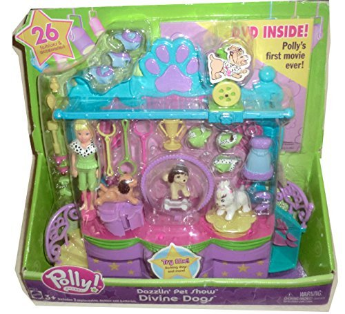 (Polly Pocket Dazzlin' Pet Show Divine Dogs)