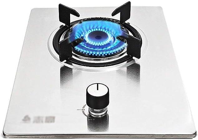 HJJ Placa de Gas Olla Individual Cocina de Gas Estufa, for ...
