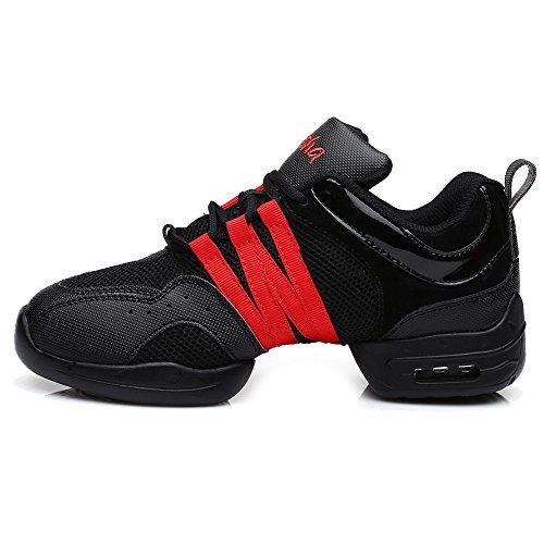 Chaussons Baskets HIPPOSEUS Hommes amp;Jazz plein B5 Modern De De De De Et Gymnastique de Soft Femmes Modèle Cuir Chaussures Sneaker amp;Mesh Danse De Baskets Sport air RIYUrdU4