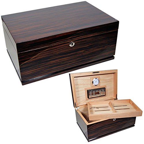 New Cuban Crafters Gran Majestad Large Cigar Humidors Box for 150 Cigars (Crafters Cuban Humidor)