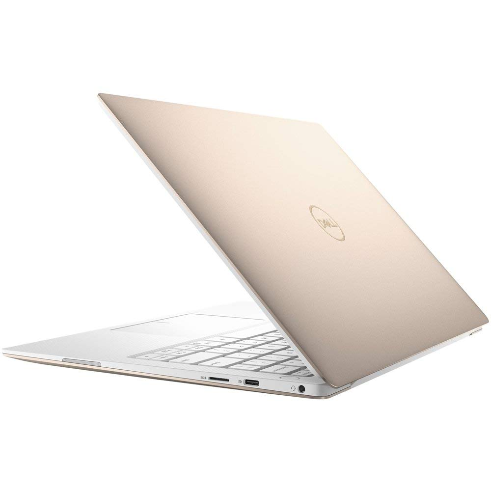 "Premium 2019 Dell XPS 13 9370 13.3"" 4K UHD IPS InfinityEdge Business Touchscreen Laptop Intel Quad-Core i7-8550U 8GB RAM 512GB PCIe SSD MaxxAudio Backlit KB WLAN Thunderbolt HDMI Win 10- Gold"