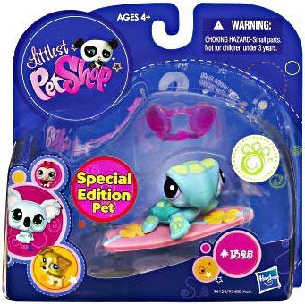Littlest Pet Shop: Special Edition Sea Turtle (#1325) Comes With Goggle And Lily Pad by Littlest PetShop
