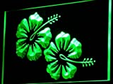 ADV PRO i757-g Hibiscus Flower Hawaii Beer Bar Neon Light Sign