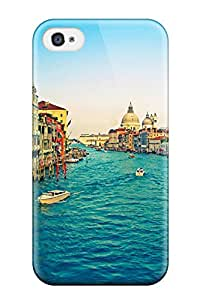 Snap-on Case Designed For Iphone 4/4s- Grand Canal 1065849K77228458