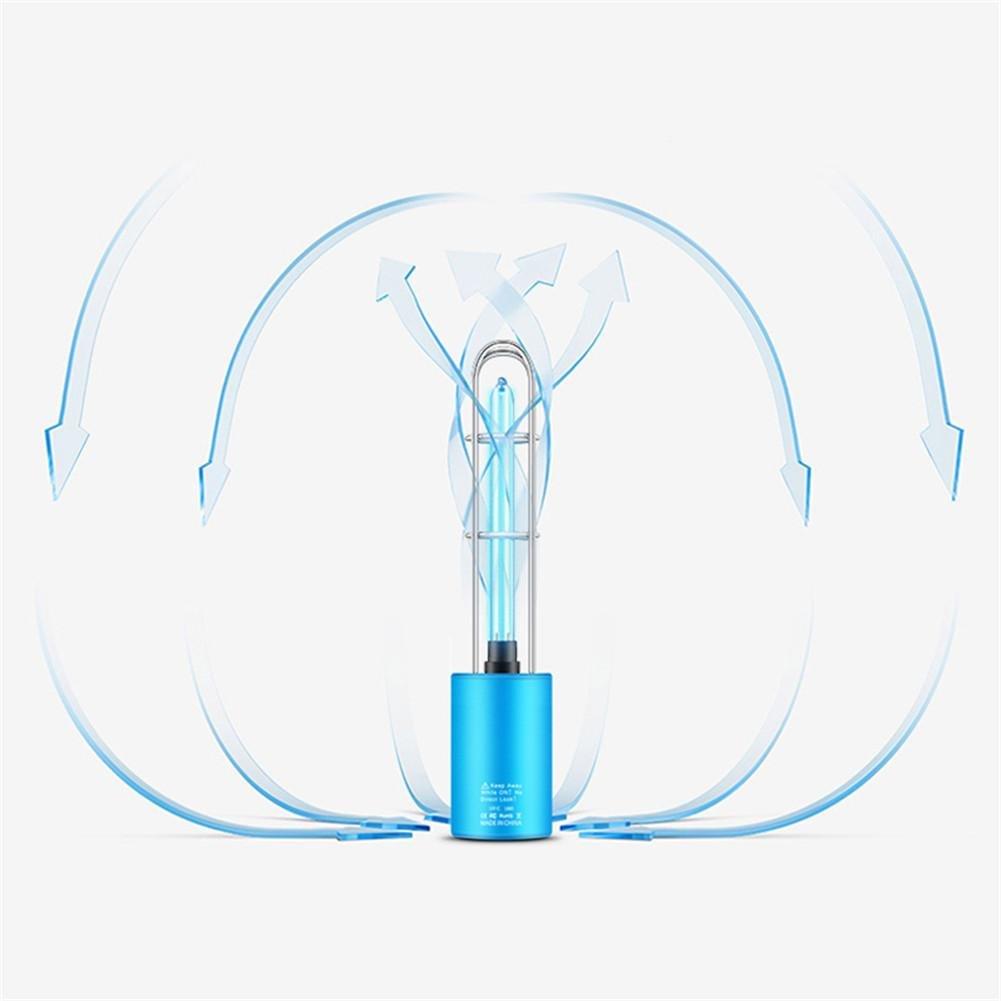 househome St/érilisation de petite taille de st/érilisation UV de st/érilisation UV portative de lampe bact/éricide enlevant lodeur particuli/ère /éliminant le formald/éhyde