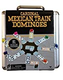 Best Mexican Train Dominoes - Cardinal Mexican Train Domino Game with Aluminum Case Review