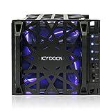 "ICY DOCK Black Vortex MB074SP-1B 4 Bay 3.5"" SATA"