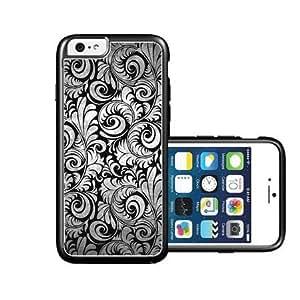 RCGrafix Brand Black Lace iPhone 6 Case - Fits NEW Apple iPhone 6