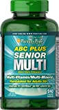 Puritans Pride Abc Plus Senior Multivitamin Multi-Mineral Formula, 240 Count