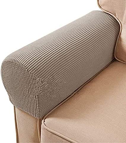 LARGE Chair Back Slip Arm Cover Cap Antimacassar Sofa Armchair Protector BROWN S