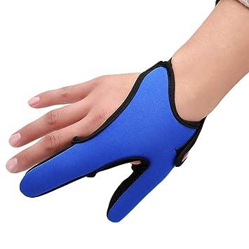Anti-Rutsch-Angeln Handschuhe Angeln Fingerschutz Zwei Finger-Angeln
