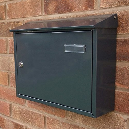 A4 capacity Taylor Anthracite Grey Letterbox Signs & Numbers