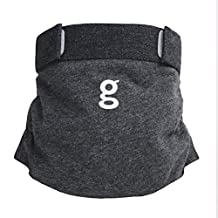 Gdiapers Heather Gpants, Dark Grey, Large