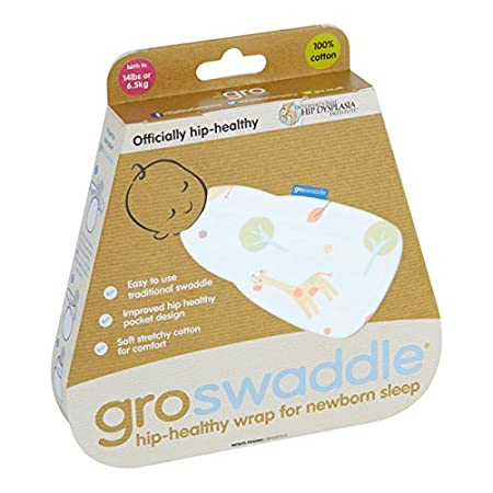 The Gro Company Spira Swirl Hip-healthy Groswaddle 0-3 Months