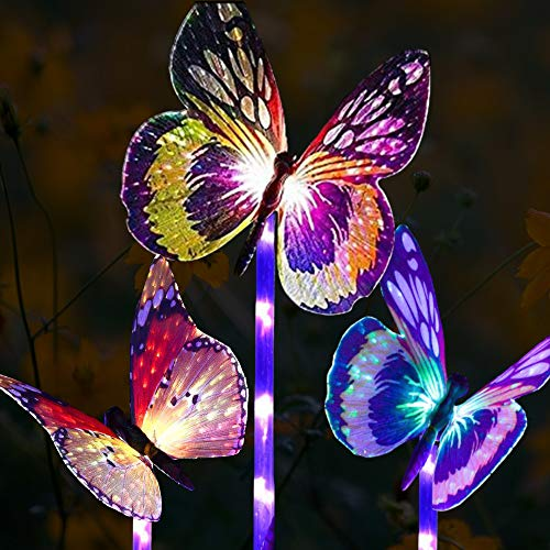 Led Solar Butterfly Lights
