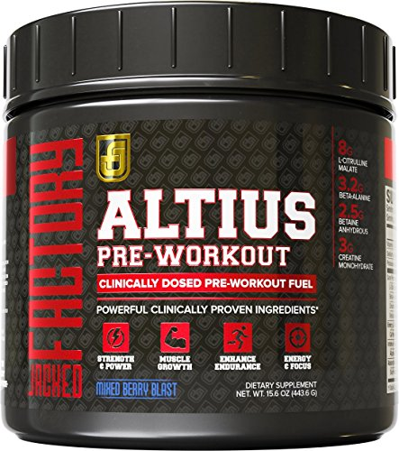 Pre-Workout Supplement (ALTIUS...