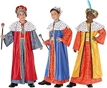 Oferta amazon: Atosa-32131 Atosa-32131-Disfraz Rey Mago niño infantil-talla color SURTIDO-Navidad, multicolor, 3 a 4 años (32131)