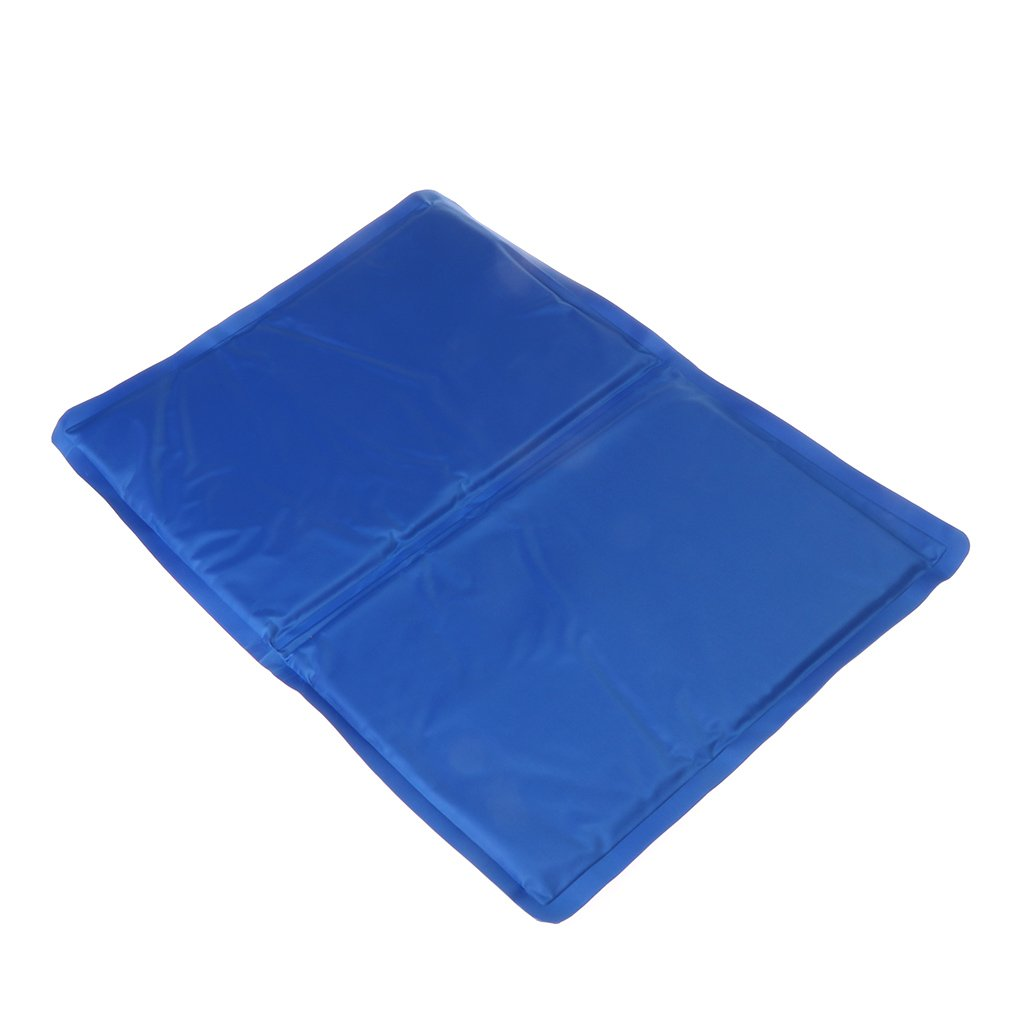 GMSP Pet Cooling Pad Summer Gel Mat Bed Cooler Canine Dog Cat Non Toxic Ester Cushion (XS)