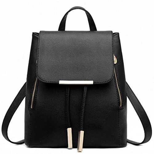 Shoulder Schoolbags Feminina Mochila Black Leather Bag Travel Beige Women Bag Backpacks YJYDADA Yfw4gqx