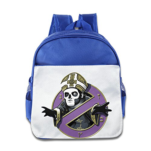 XJBD Custom Personalized Popestar-Ghost B.C. Teenager Schoolbag For 1-6 Years Old RoyalBlue ()