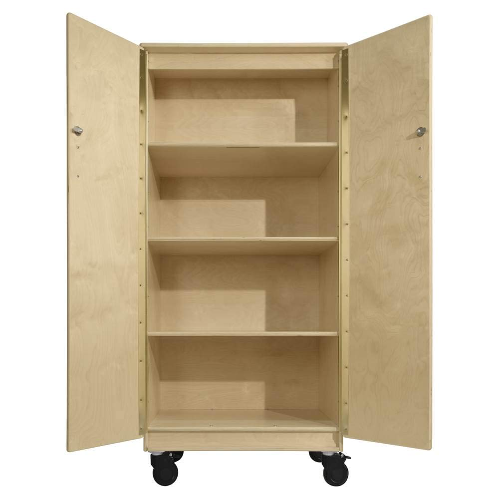 Contender Teacher's Four Cubby Locking Cabinet- RTA by Contender