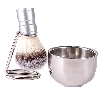 Set de Manual Maquinilla de Afeitar Soporte de Acero ...