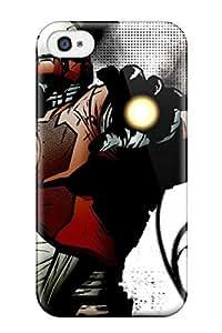 Iphone Case - Tpu Case Protective For Iphone 4/4s- Tony Stark Comics