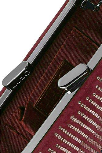 CLUTCH 'LILLE' A67114T6550 91725 RUBY WINE LIUJO