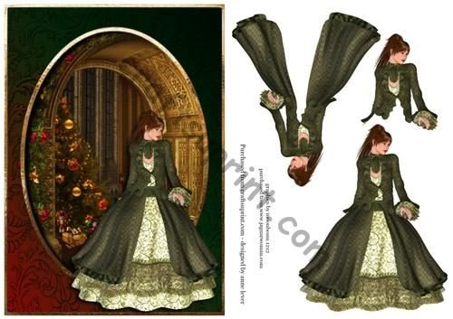 Victorian Christmas Elegance by Anne Lever
