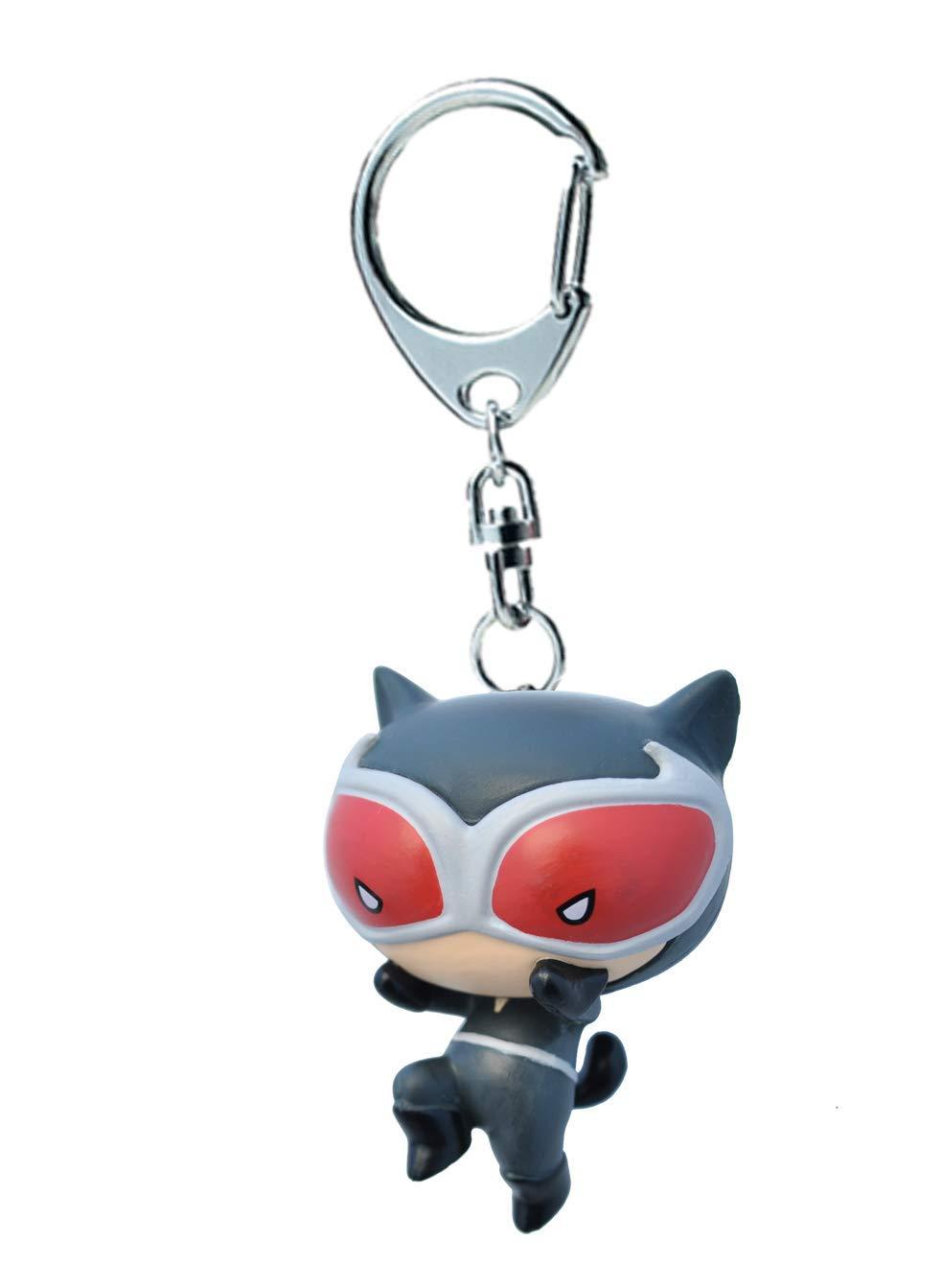 Plastoy DC Comics Catwoman Llavero Chibi, 60705: Amazon.es ...
