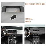 Autostereo BMW Z4 (E85) 2003-2009 Car Radio Fitting Kit installation fascia Car Radio Stereo Facia Frame BMW Z4 (E85) Double Din Fascia Frame