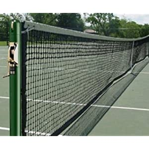 3 in. Round Competition Tennis Post Set of 2 (Green)