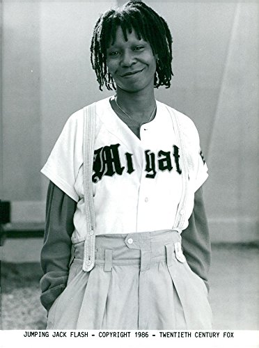 Jumping Jack Collectible - Vintage photo of Whoopi Goldberg in Jumping Jack Flash