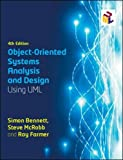 img - for Object-Oriented Systems Analysis and Design Using UML (UK Higher Education Computing Computer Science) book / textbook / text book